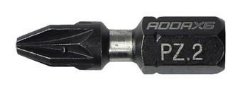 Addax X6i Impact Pozi Driver Bit (PZ2 x 25mm)