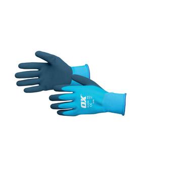 OX Waterproof Latex Gloves Large (OX-S483809)