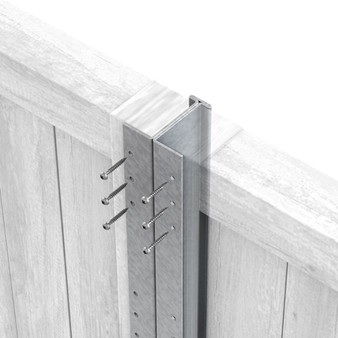 Fencemate Dura Post Slimline 2.4m - Galvanised (8062461)