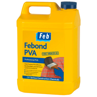 Everbuild Febond PVA – The Original 25 Litre (FBBONDPVA25)