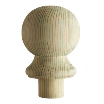Cheshire Mouldings Core Deck Pine Decking Ball Cap Ball Cap 95 x 75 x 75mm (DEB)