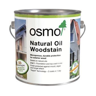 Osmo Natural Oil Woodstain Ebony 2.5L (712D)
