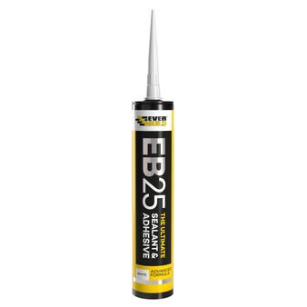 Everbuild EB25 Ultimate Sealant and Adhesive 300ml White (EB25WE)