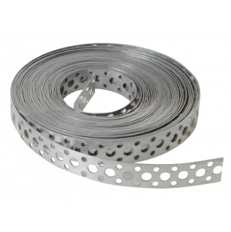 Forgefix Builders Fixing Band Heavy Medium Duty 20mm x 1.0mm x 10M Galvanised (GB20)