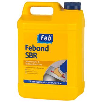 Everbuild Febond SBR 5 Litre White (FBBONDSBR5)