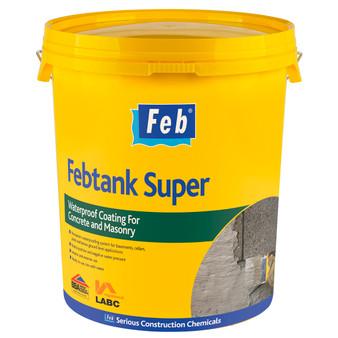 Everbuild Febtank Super Bucket Grey 20kg Grey (FBTANKTUBG)