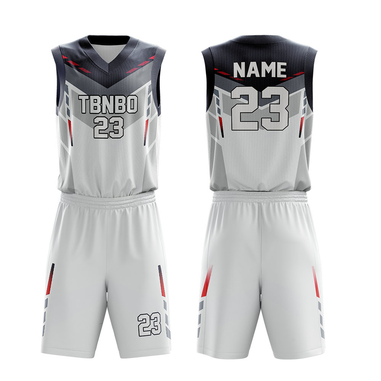 Custom Wholesale Basketball Watermark Customize Basketball Jersey Uniform Free Add Your Name And Number