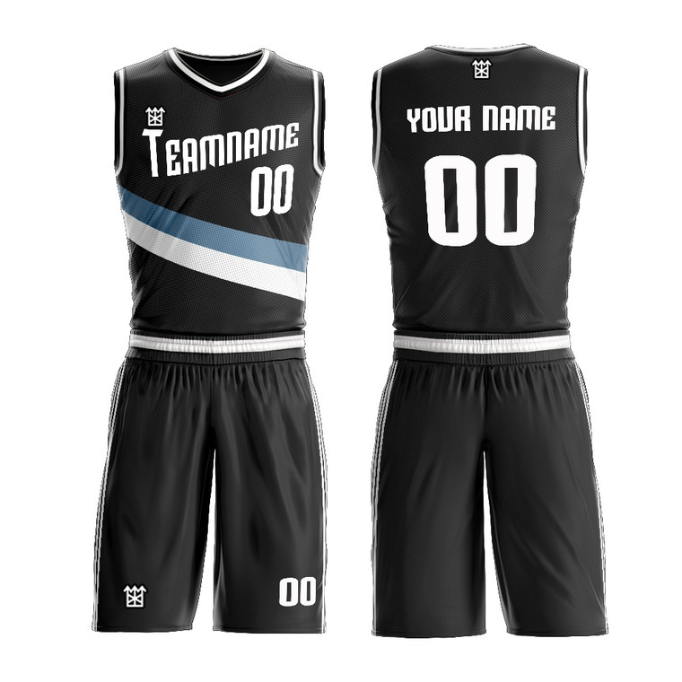 Dry Fit V And Round Neck Jersey Basketball With Various Colors Custom Wholesale