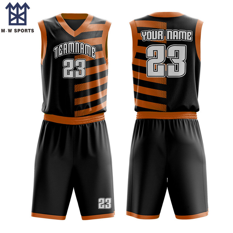Wholesale Quick Dry Basketball Uniform Matching Basketball Wear With You Logo