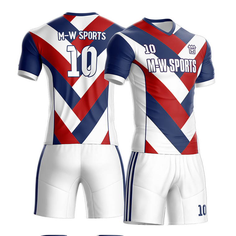 Custom Professional Design Sublimated Soccer Jersey High Quality Football Uniform