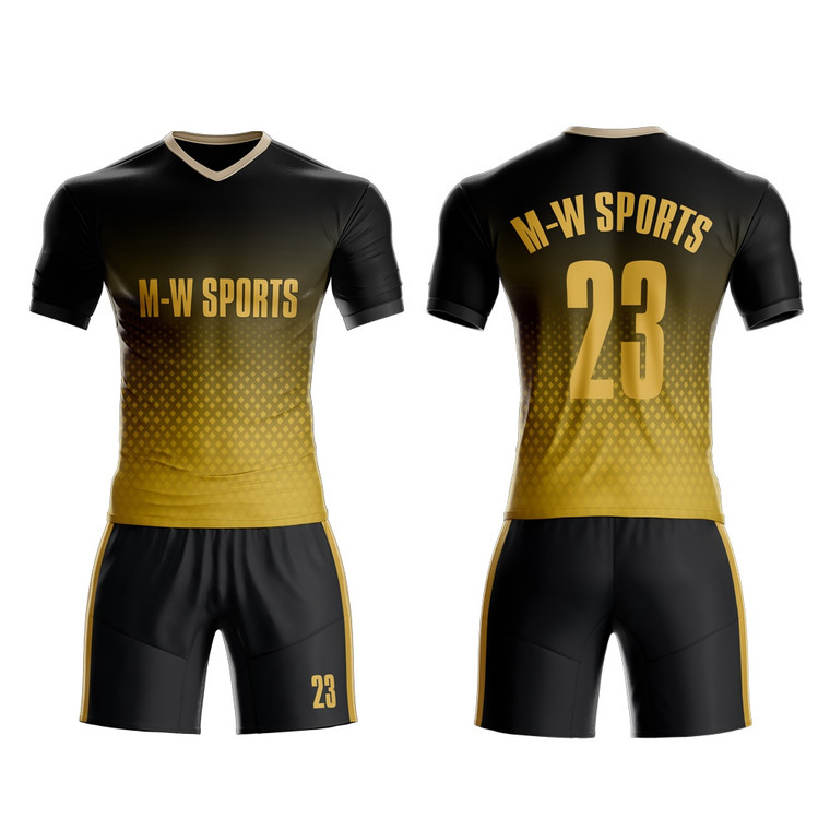 Custom Sublimation Soccer Jerseys& shorts With Your team Logo , name ,number