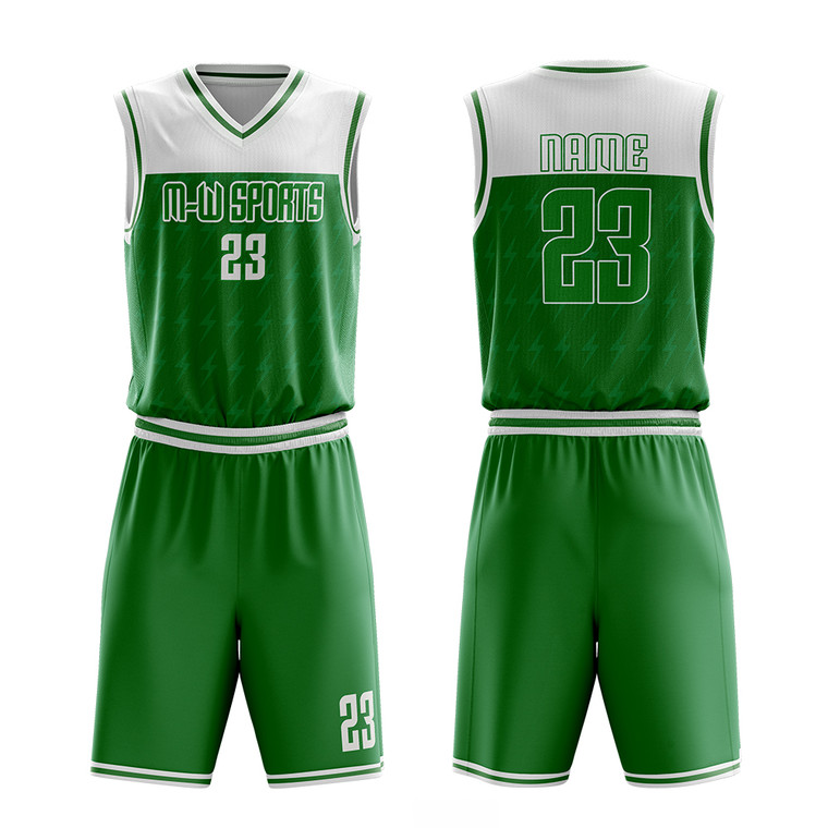 Basketball Uniform Kit Sublimation Best Customized Hot Sale College High Quality Youth Basketball Jerseys