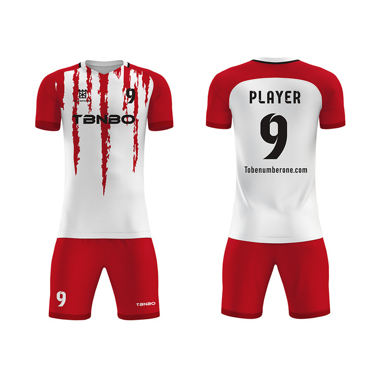 2021 Soccer Shirts White Jersey mixture custom team name number personalized products