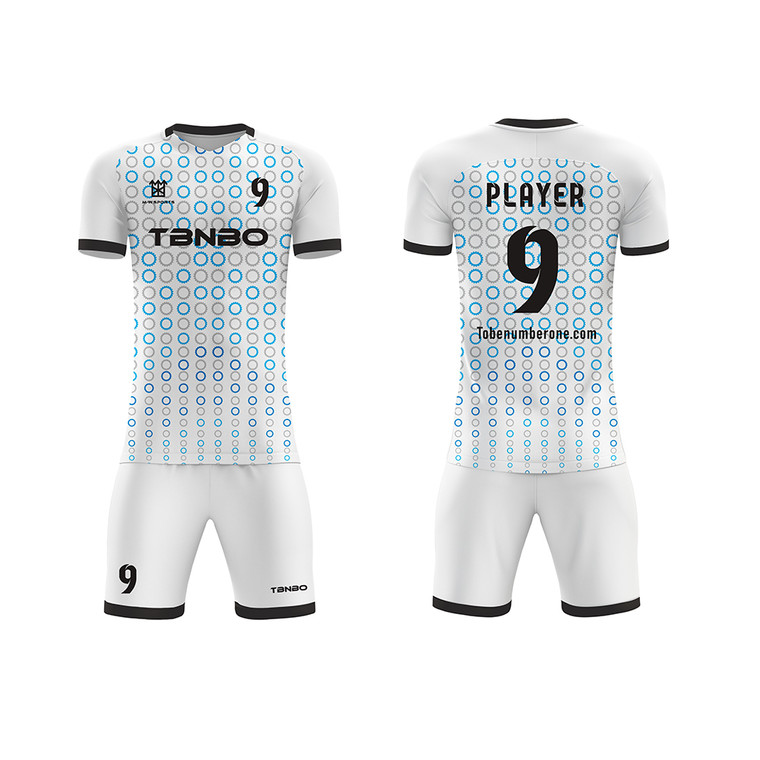 Slim Circle custom team soccer uniforms add with your name,number, logo  men&kids