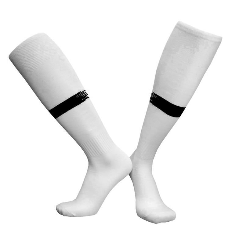 Top Quality Plain Sports Socks With Stipes Kids And Adults Training And Gaming Socks