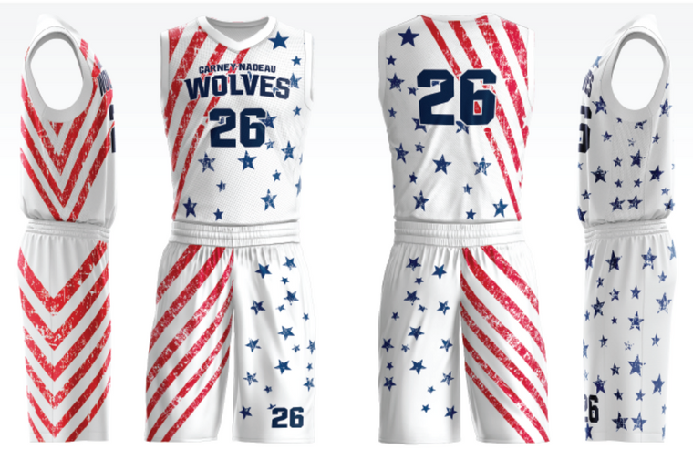 Custom Stars concept basketball team jerseys for men/kids/youth youth kids team sport uniforms add with logo, team name ,number