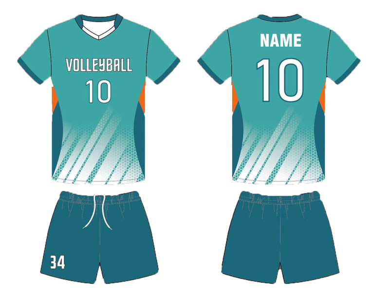 Design Your Own Volleyball Jerseys for your team Custom Sublimated Volleyball Jerseys and shorts