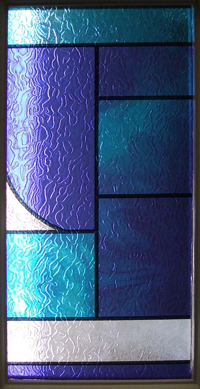 Abstract Stained Glass DIY Decorative Privacy Window Film