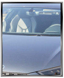 vlt-50 automotive window tint is lighter depending  upon light conditions