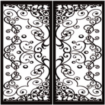 DD6 Faux Iron (set of two - enter size for one window)