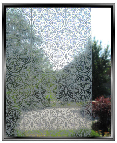 Deco Screen - DIY Decorative Light Duty Window Film