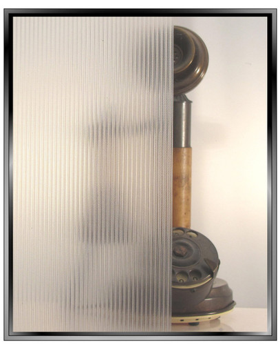 Ribbed Glass - DIY Static Cling Window Film