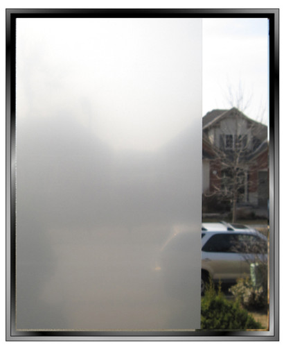 Apex Dusted Crystal Window Film - DIY Decorative Film
