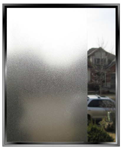 "Apex Silky Matte Low Tack - Decorative Privacy Window Film 48"" Width - Wholesale"