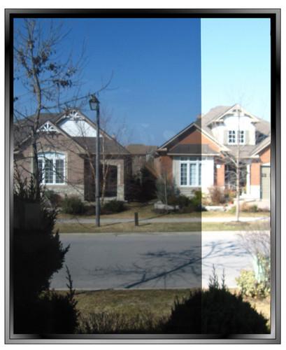 Exterior Onyx Solar film VLT 25
