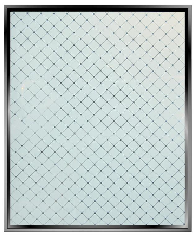 Half Inch White Diamonds - DIY Decorative Film