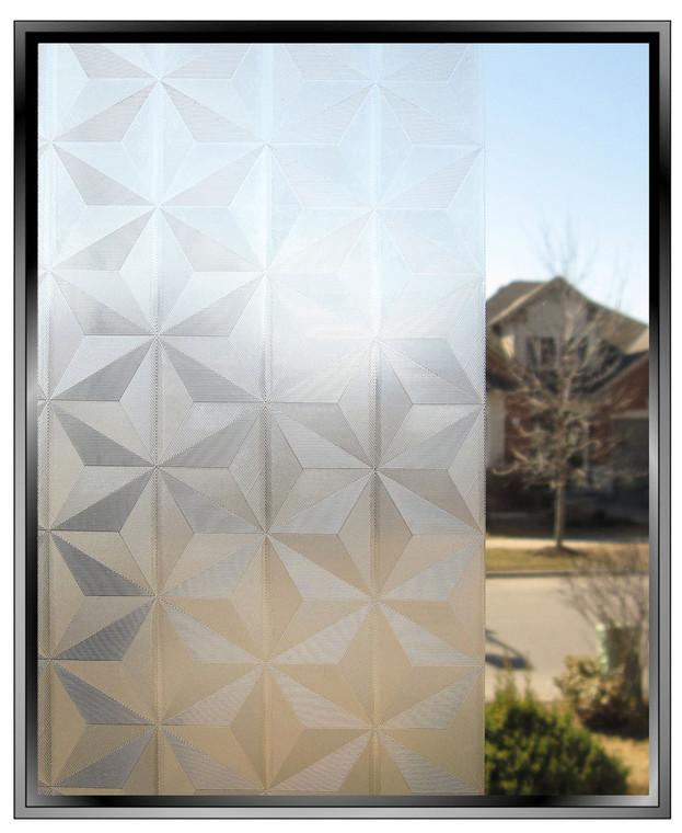 Stars - DIY Decorative Privacy Window Film