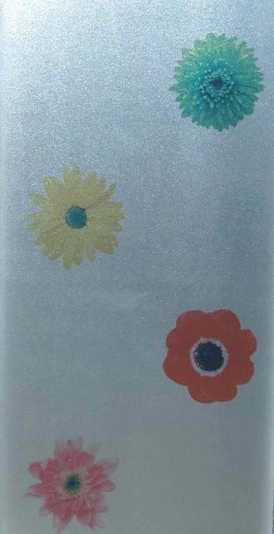 Flower Matte - DIY Decorative Privacy Window Film
