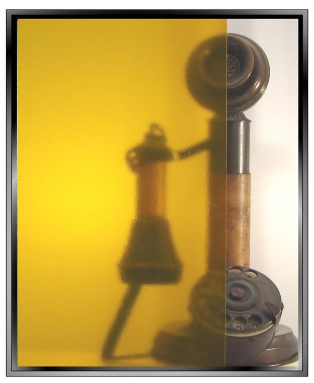 Transparent Amber - DIY Decorative Window Film