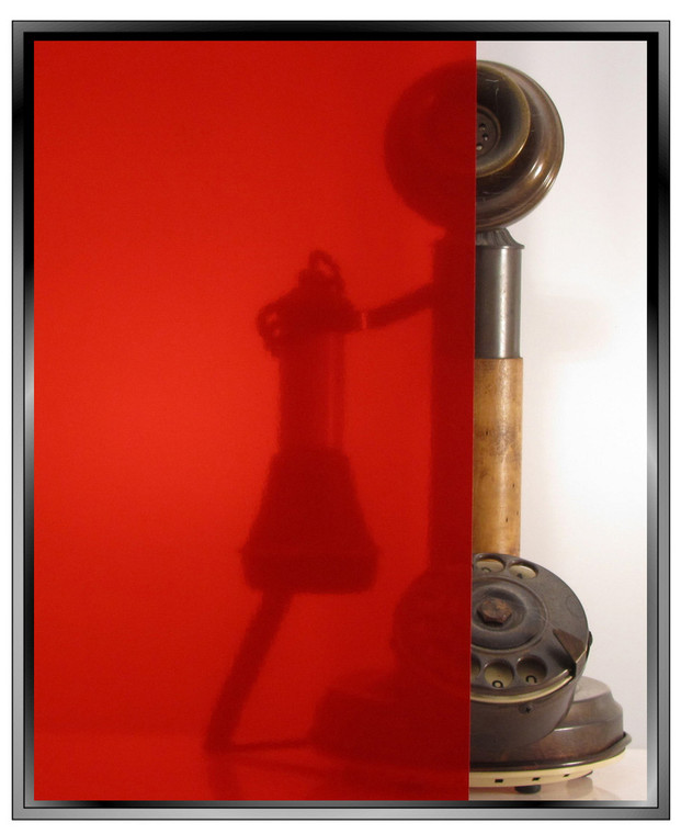 Transparent Red - DIY Decorative Window Film