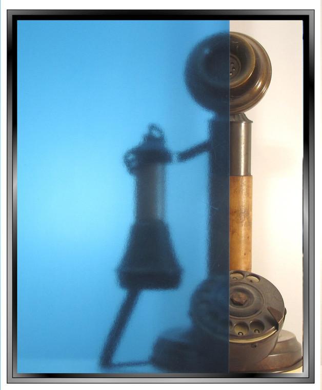 Transparent Light Blue - DIY Decorative Window Film