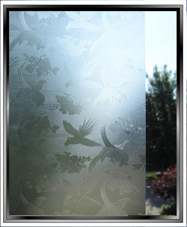 Birds - DIY Decorative Light Duty Window Film