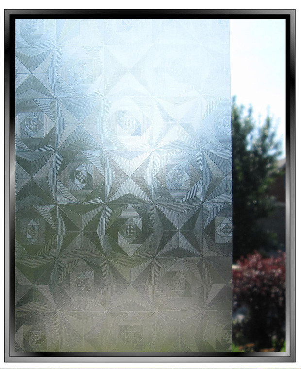 Spiral- DIY Decorative Light Duty Window Film