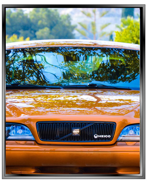 premium+ reflective auto tint will appear differently depending upon lighting conditions
