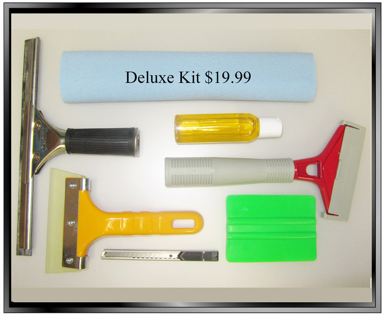 Deluxe DIY Window Film Installation Kit
