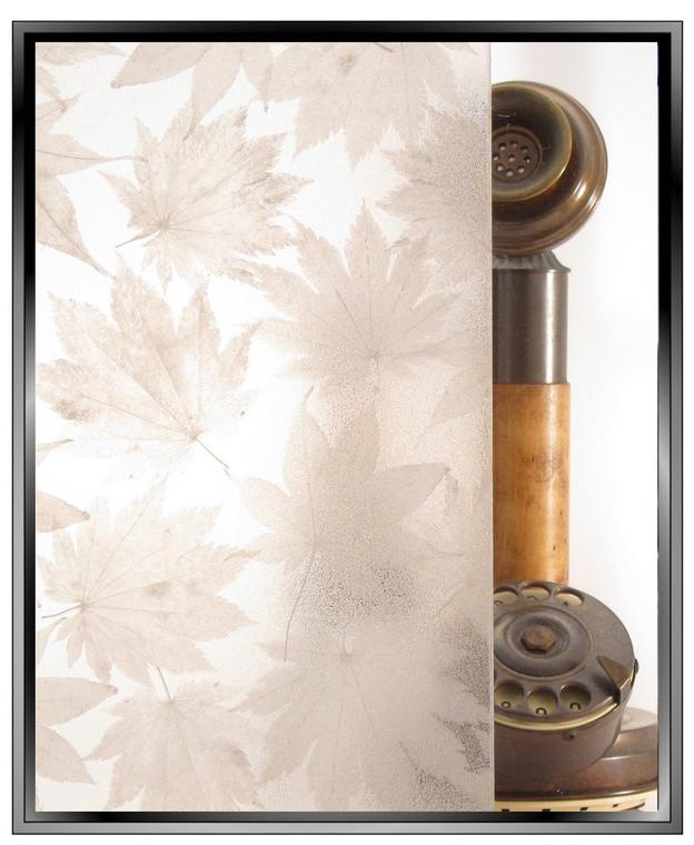 dp Maple Leaf Matte - DIY Privacy Window Film - 2 Film Combination