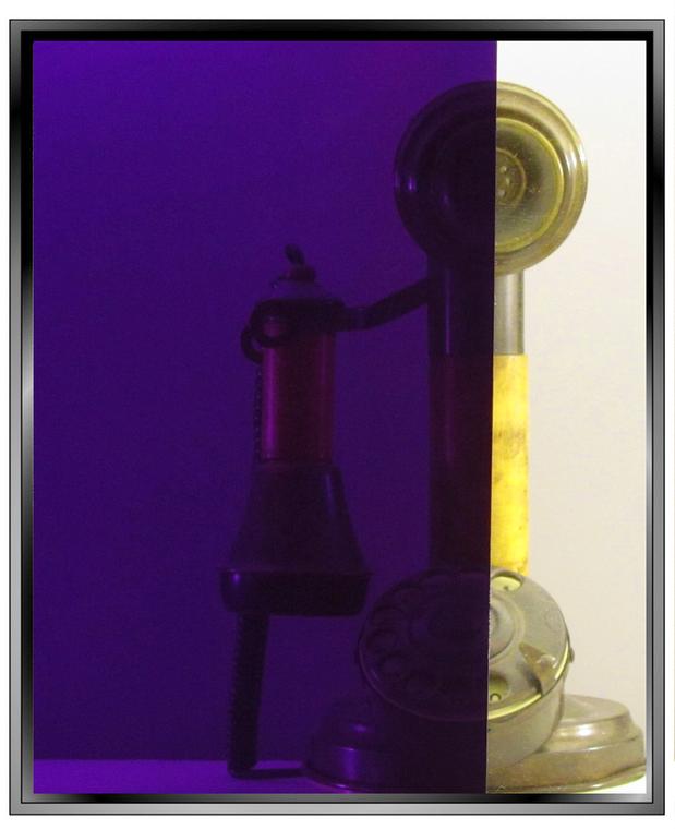Silver Violet DIY Decorative Window Film