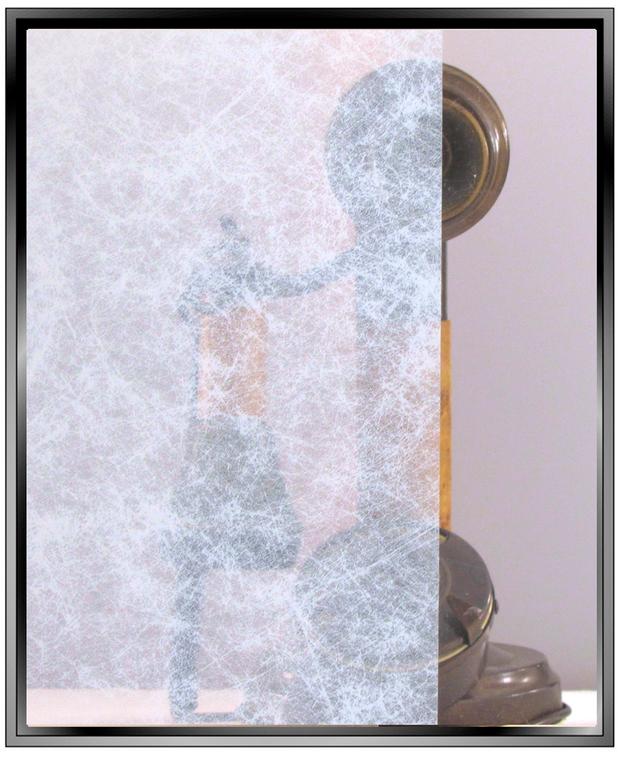 Smoke - Apex Transparent White Smoke DIY Decorative Window Film