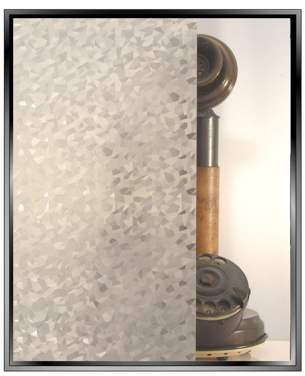Icy Shards - Static Cling Window Film - Standard Pre-Cut Sizes