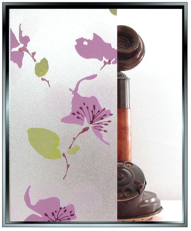 Watercolour - Static Cling Window Film