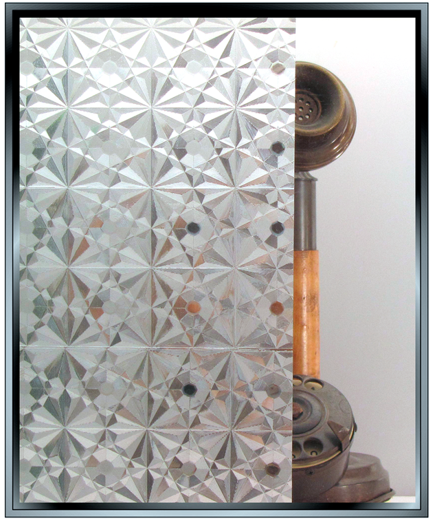 kaleidoscope crystal decorative privacy window film from Apex