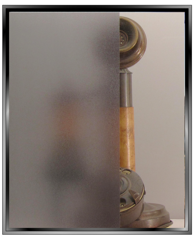 Mattes - Grey Matte DIY Decorative Privacy Window Film