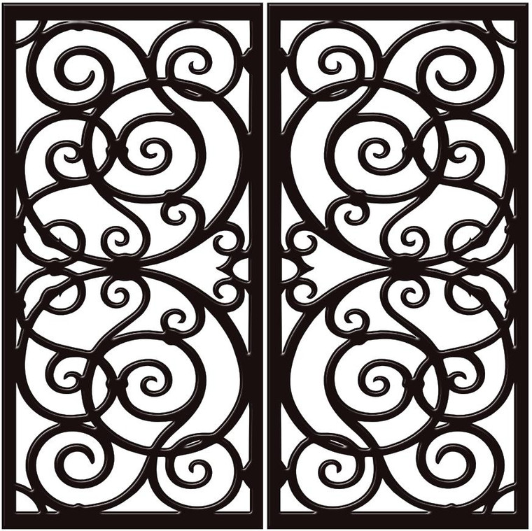 DD3 Faux Iron (set of two - enter size for one window)