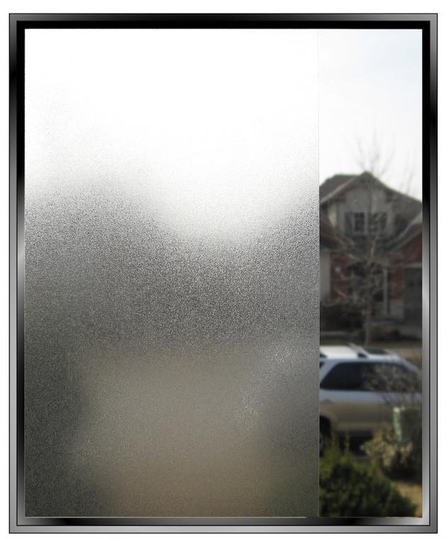 Silky Matte decorative privacy window film