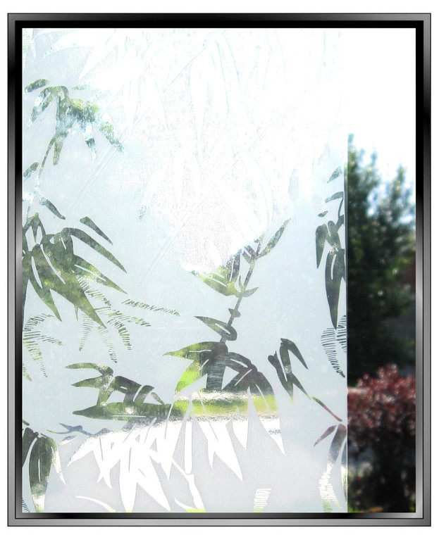 painted bamboo clearance sale window film for privacy