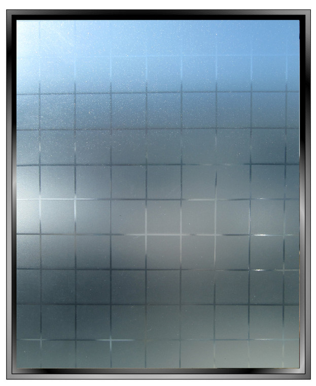 Etched Squares - DIY Decorative Privacy Window Film